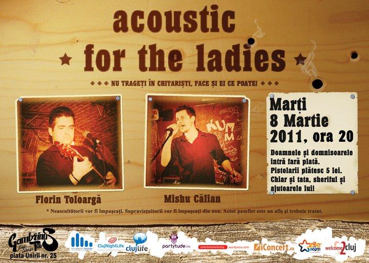 Acoustic for the ladies @ Gambrinus Pub