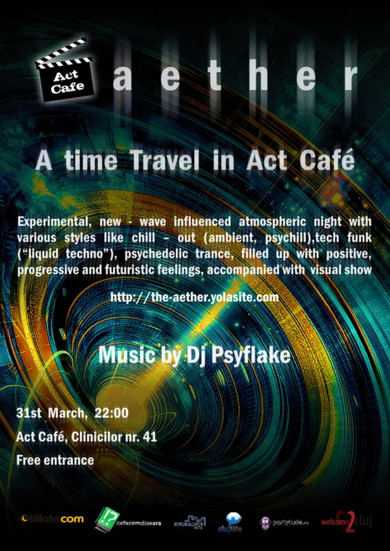 Aether – A time travel in Act Cafe