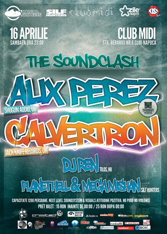 Alix Perez & Calvertron @ Club Midi