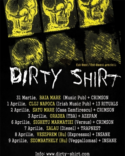 Dirty Shirt @ Irish & Music Pub