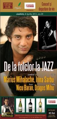 De la folclor la jazz