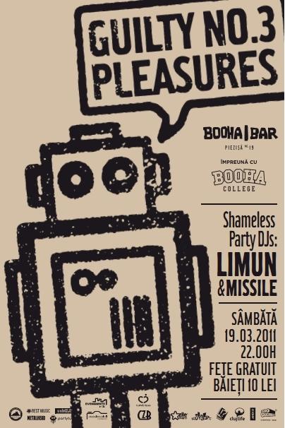 Guilty Pleasures #3 @ Booha Bar
