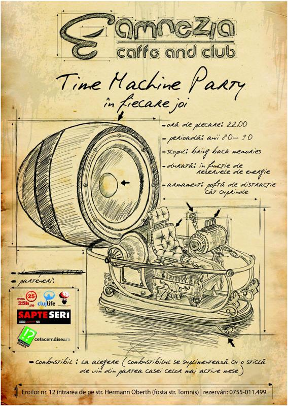 Time Machine Party @ Club Amnezia