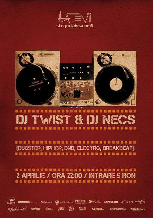 Twist & Necs @ La Tevi Pub