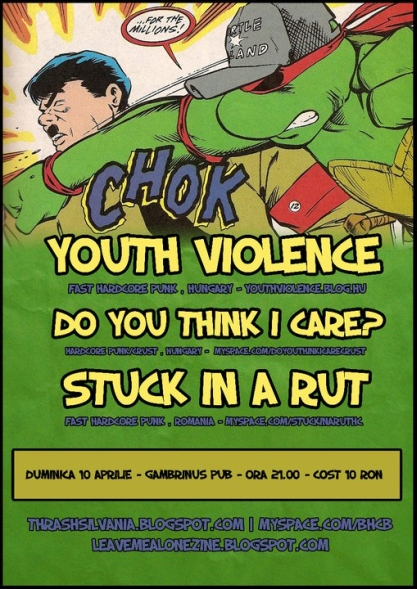 Youth Violence @ Gambrinus Pub