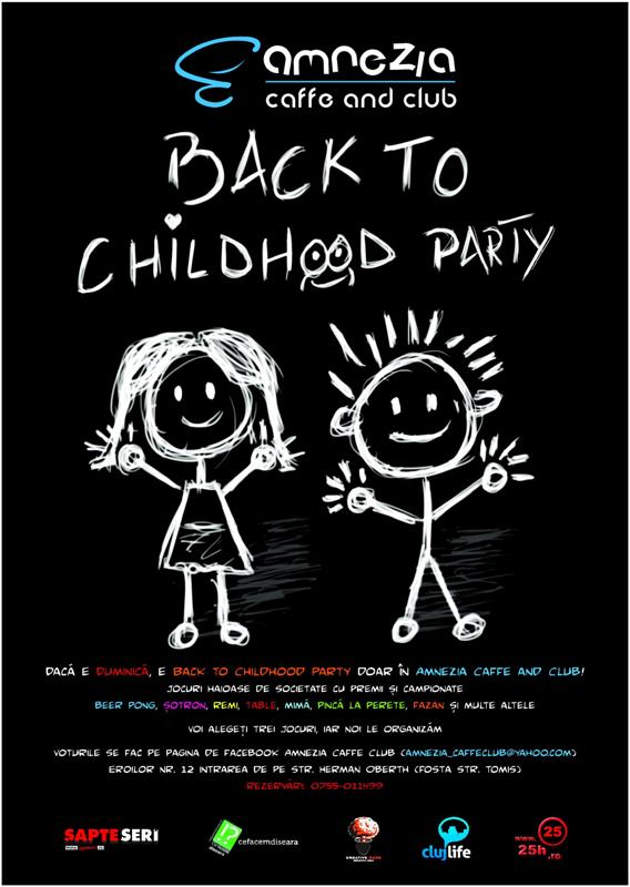 Back to childhood party