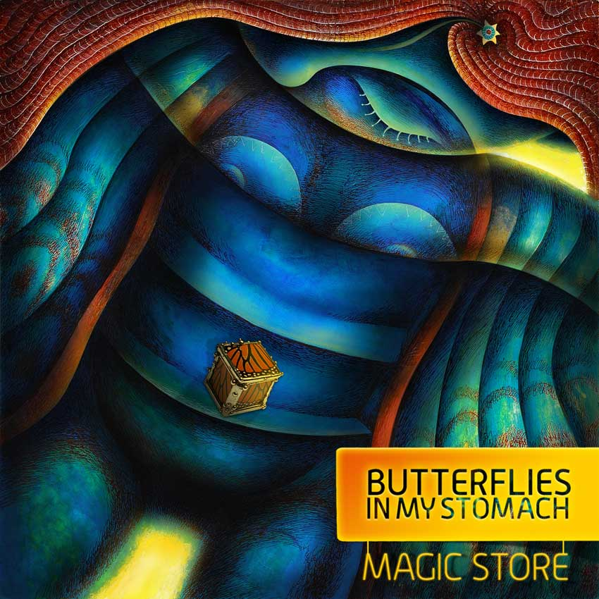 """Butterflies in My Stomach lanseaza """"Magic Store"""""""