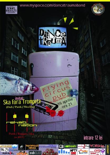 Dance Trauma @ Flying Circus Pub