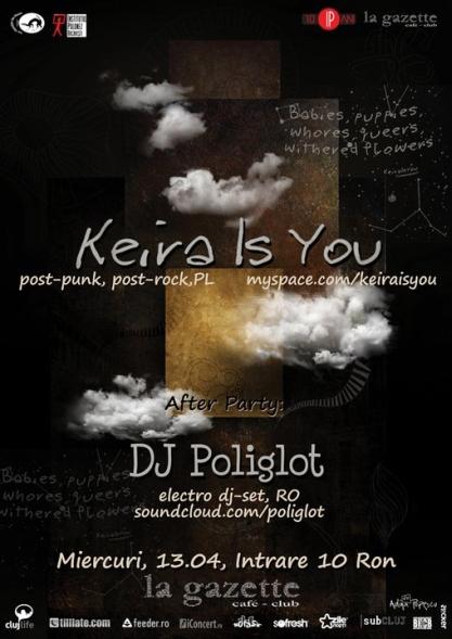 Keira Is You @ La Gazette