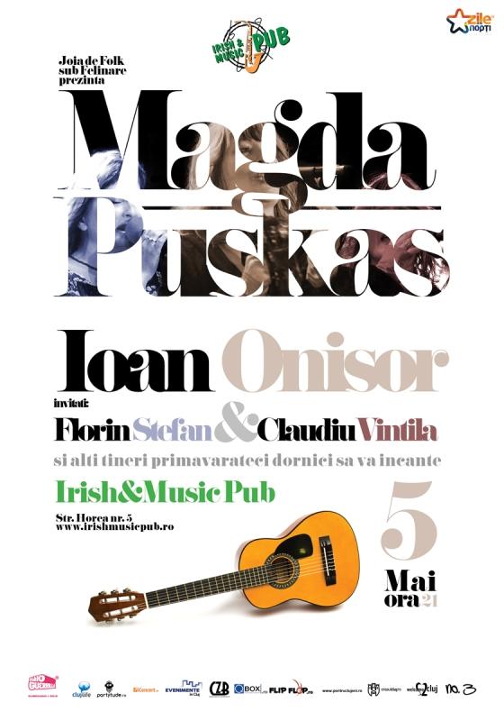 Magda Puskas @ Irish & Music Pub