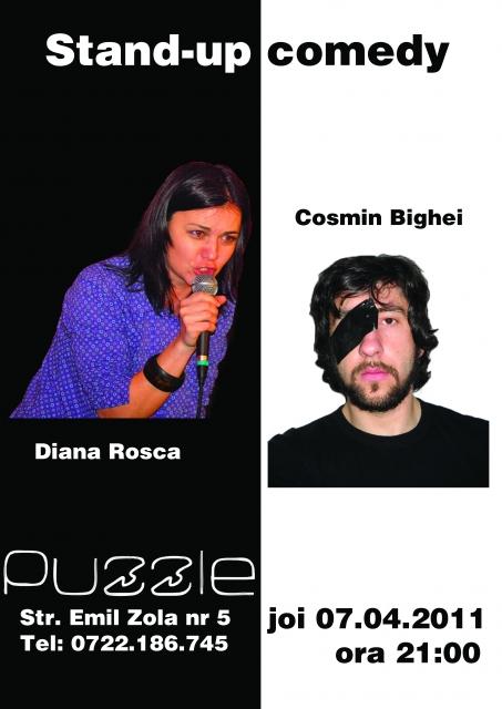 Diana Rosca si Cosmin Bighei