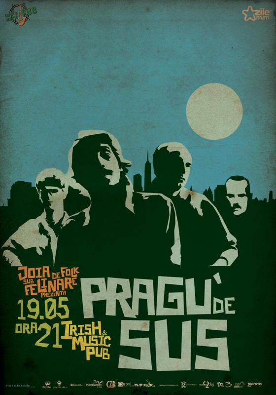 Pragu' de Sus @ Irish & Music Pub