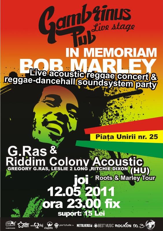 G.Ras & Riddim Colony Acoustic @ La Subsol