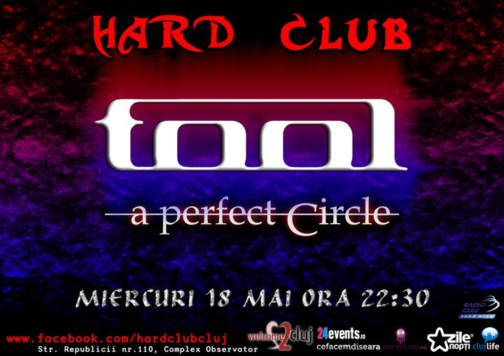Videoproiectie: Tool & A perfect circle @ Hard Club
