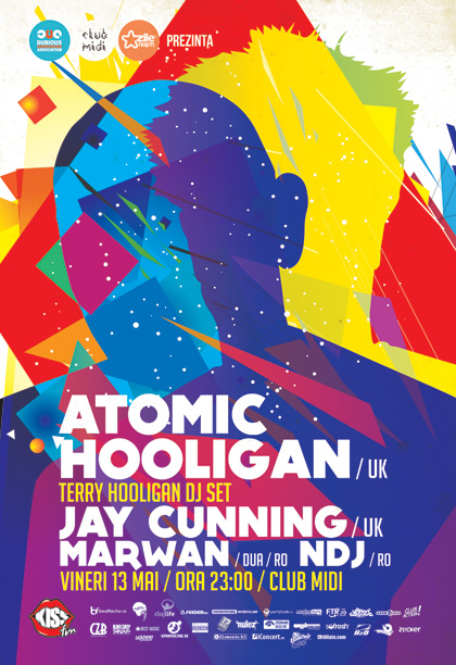 Atomic Hooligan & Jay Cunning @ Club Midi