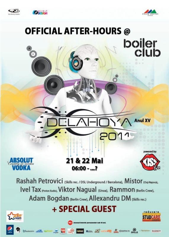 Delahoya After-Hours @ Boiler Club
