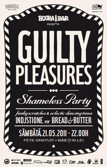 Guilty Pleasures – Shameless Party @ Booha Bar