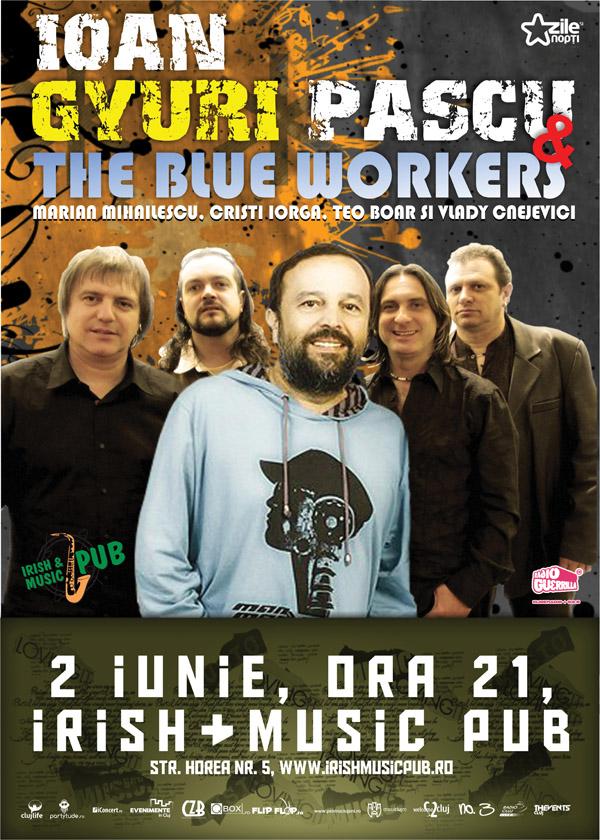 Ioan Gyuri Pascu & The Blue Workers