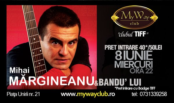 TIFF Party cu Mihai Margineanu