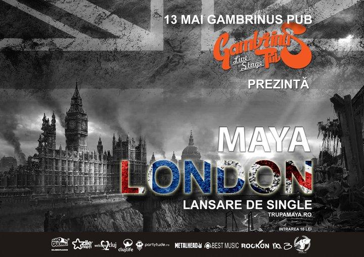 "Maya lanseaza single-ul ""London"""