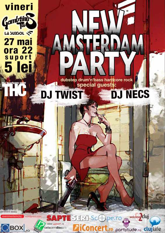 New Amsterdam Party @ Gambrinus Pub