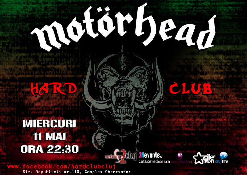 Videoproiectie: Motorhead @ Hard Club