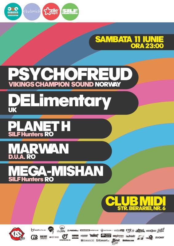 Psychofreud & DELimentary @ Club Midi