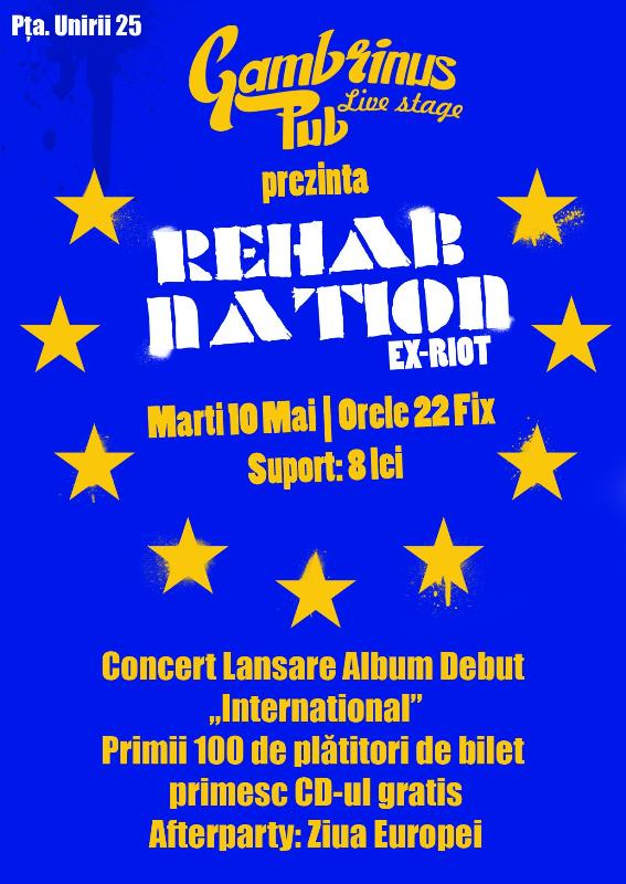 Rehab Nation @ Gambrinus Pub