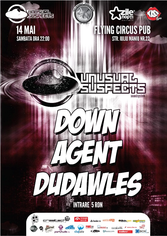 Unusual Suspects Soundsystem @ Flying Circus Pub