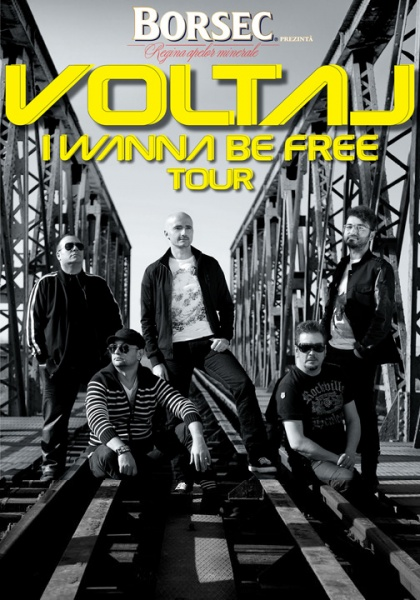Voltaj – I Wanna Be Free Tour @ Sala Sporturilor