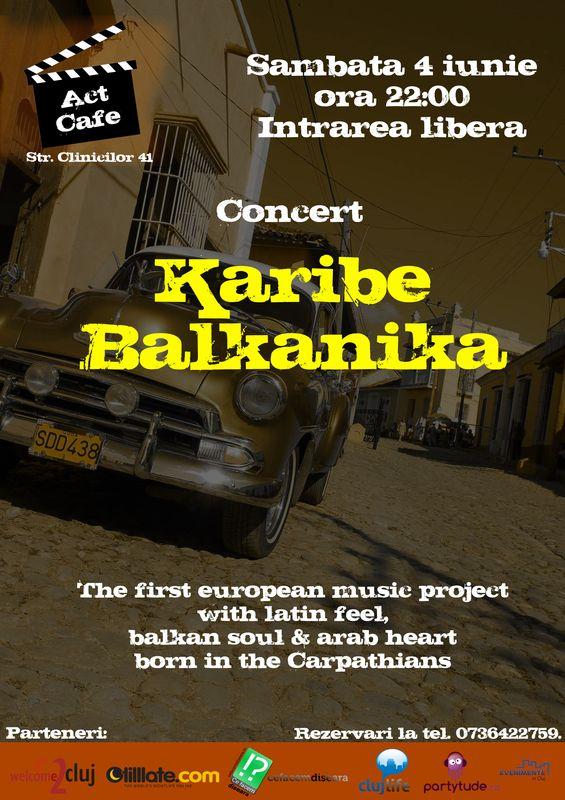 Karibe Balkanika @ Act Cafe