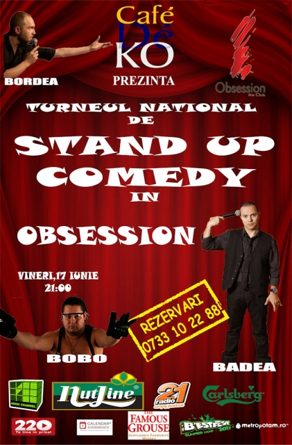 Standup Comedy @ Obsession