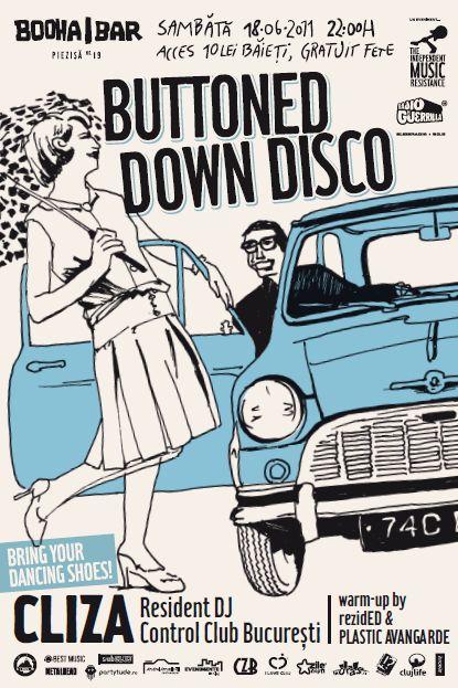 Buttoned Down Disco @ Booha Bar