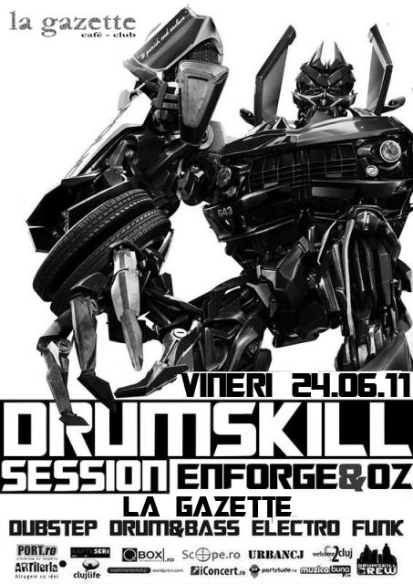 Drumskill Crew Session @ La Gazette