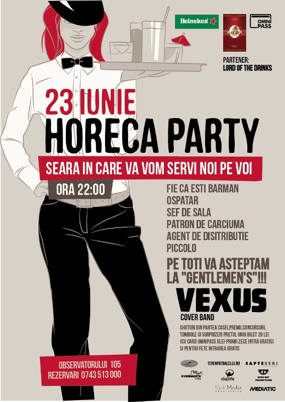 Horeca Party @ Gentlemen's Club