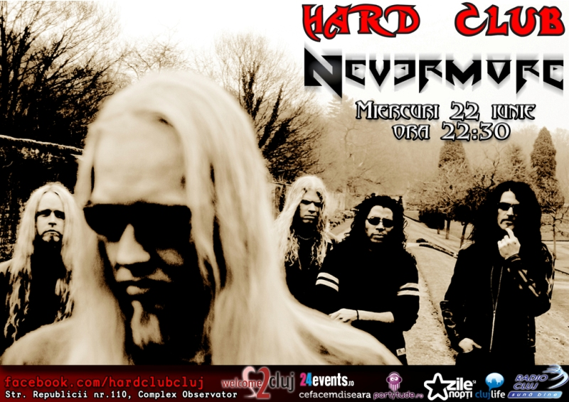 Videoproiectie: Nevermore @ Hard Club