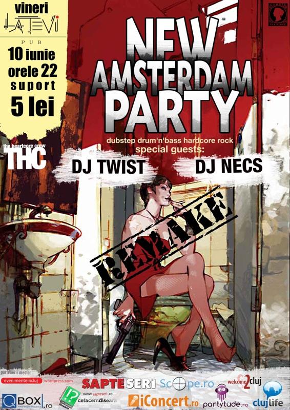 New Amsterdam Party @ La Tevi Pub
