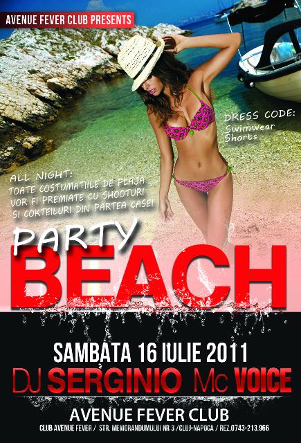 Beach Party @ Club Avenue