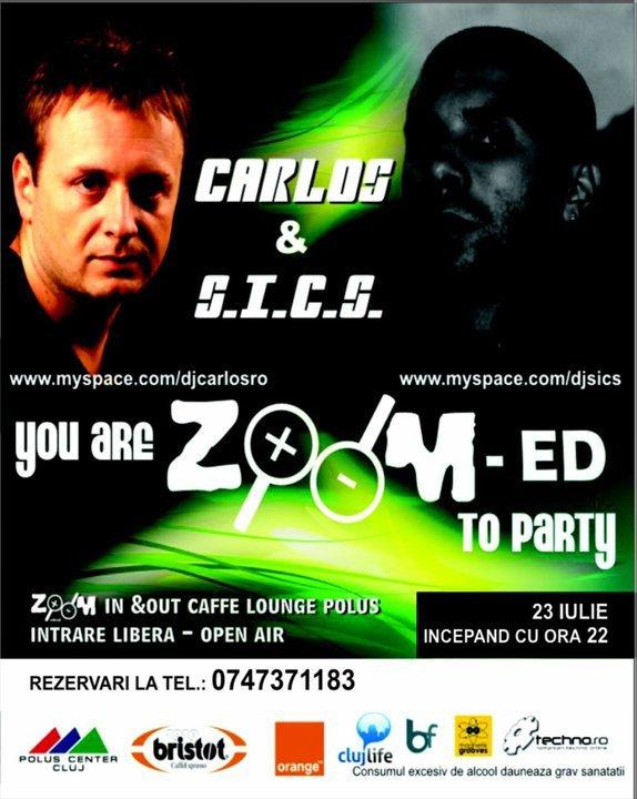 Carlos & SICS @ Zoom Cafe