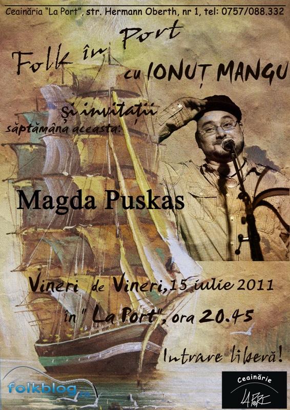 Folk in Port cu Ionut Mangu