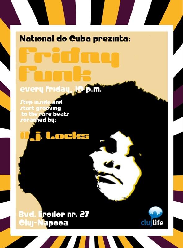 Friday Funk @ National de Cuba