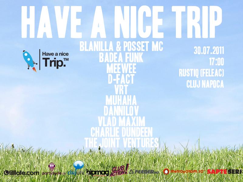Have A Nice Trip @ Rustiq (Feleac)