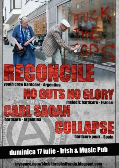 Reconcile @ Irish & Music Pub