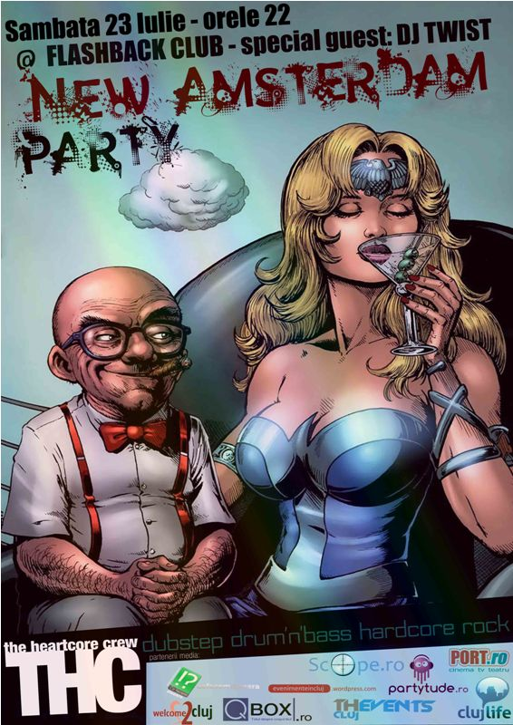 New Amsterdam Party @ Club Flashback