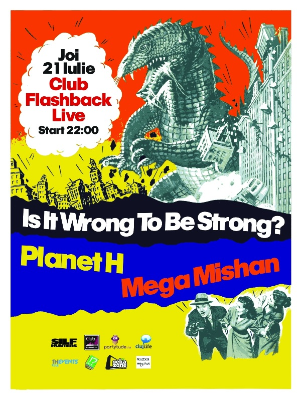 Is it wrong to be strong? @ Club Flashback