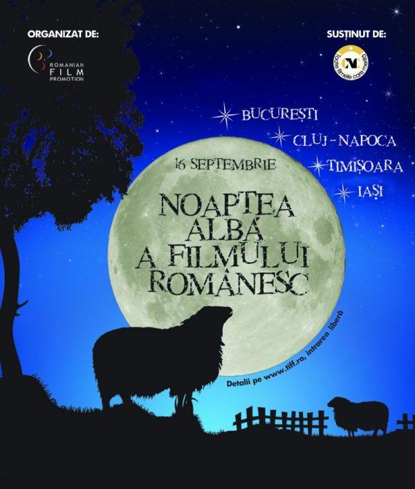 Noapte alba a Filmului Romanesc