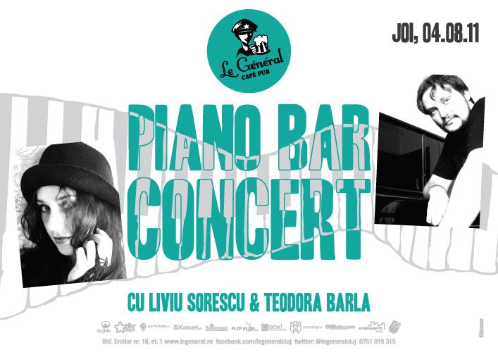 Piano bar concert @ Le General