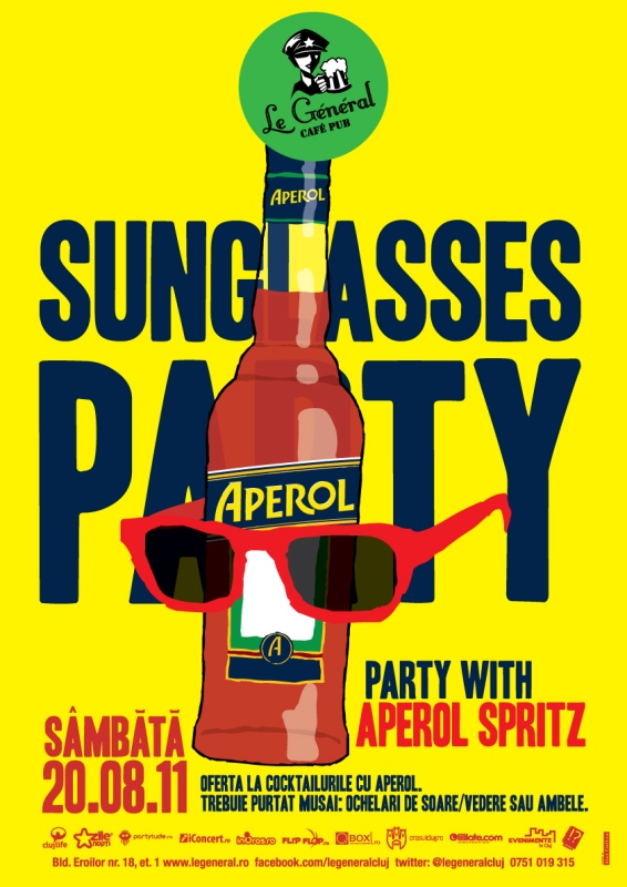 Sunglasess Party @ Le General
