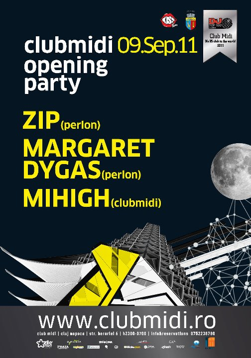 Opening Party cu ZIP @ Club Midi