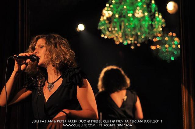 Poze: Juli Fabian & Peter Sarik Duo @ Club Diesel